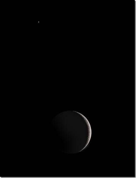 Moon and Venus III