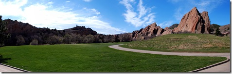 Arrowhead Golf panprama