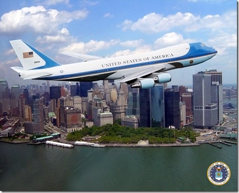 Air Force One NYC