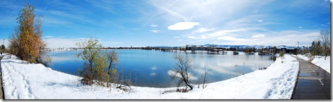 lake at Clemet Park colorado