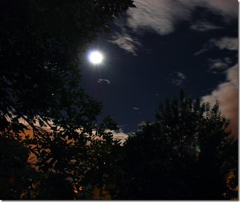 Moon and Jupiter 2010