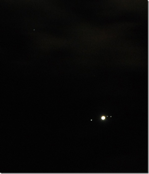Jupiter and Uranus