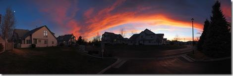 Neighborhood sky