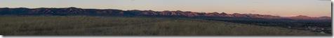 Front Range Sunrise