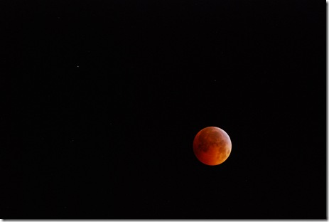 Eclipsed moon 12-21-2010 a