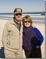 Kelly and Dad Jax Beach 2010