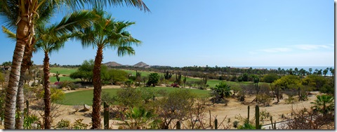 cabo del Sol golf pano