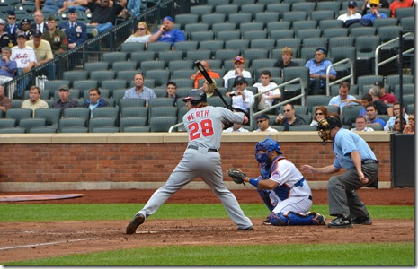 werth at the plate
