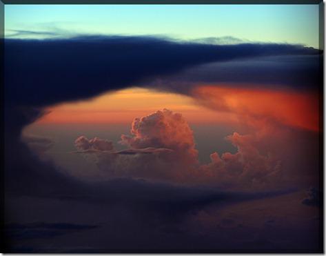 Sunset 34000ft