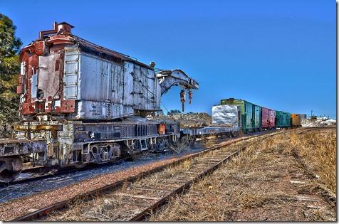 Rail Crane 5 HDR