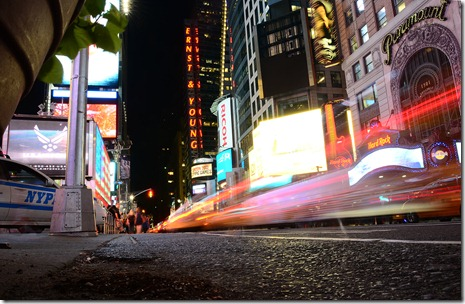 Times Square Low Angle