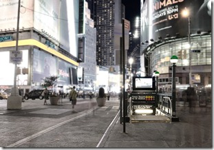 Times Square Subway 2