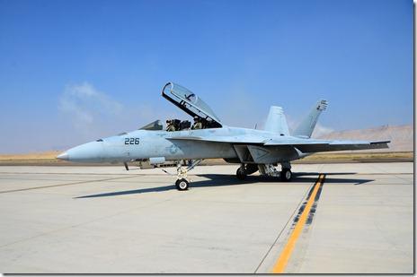 VFA -106 Grippy and Trig taxib