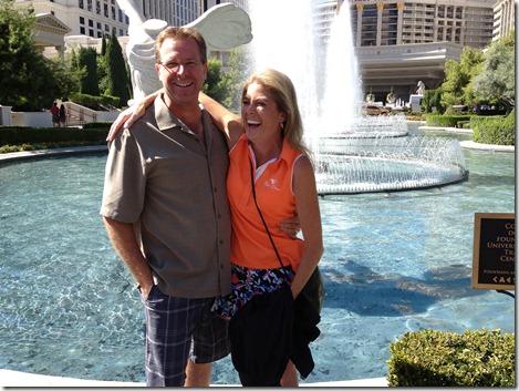 John and Ginger at Caesars