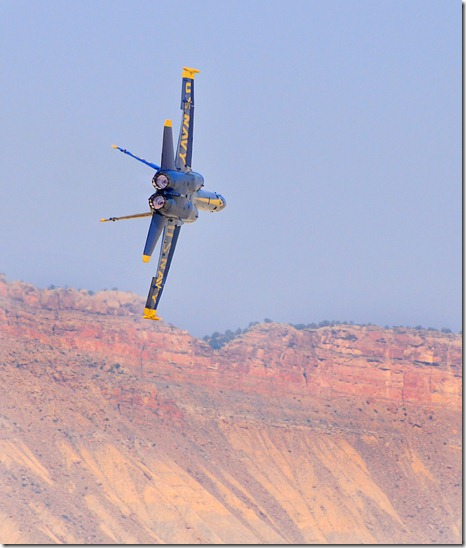 Blue Angel #5 Min Rad Turn