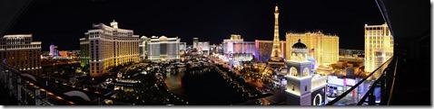 Vegas Strip at Night 3 Pano