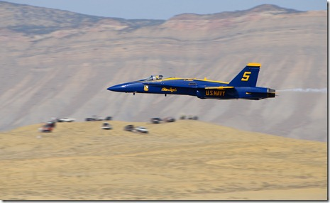 Blue Angel #5 high speed