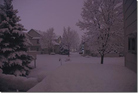 9pm snow