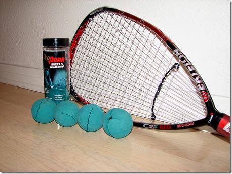 Bad Racquet balls