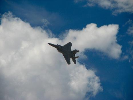 F-15C Hard Turn