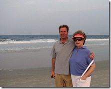 Mom and John at Jax Beach
