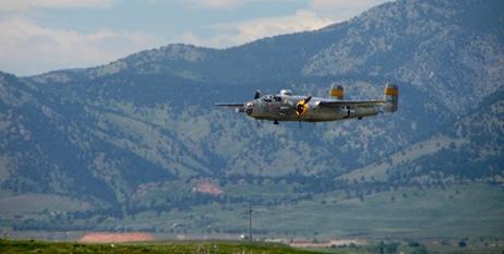 b25 flyby