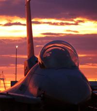 F16sunset