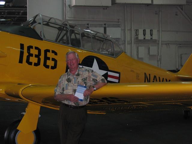 RADM Hoagy Carmichael (USN Ret.) and the SNJ